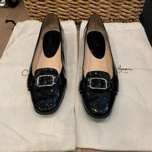 Cole Han Patent Leather Flats Size 9